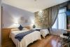 Reservar habitaciones dobles exteriores en el centro de Donostia - San Sebastián
