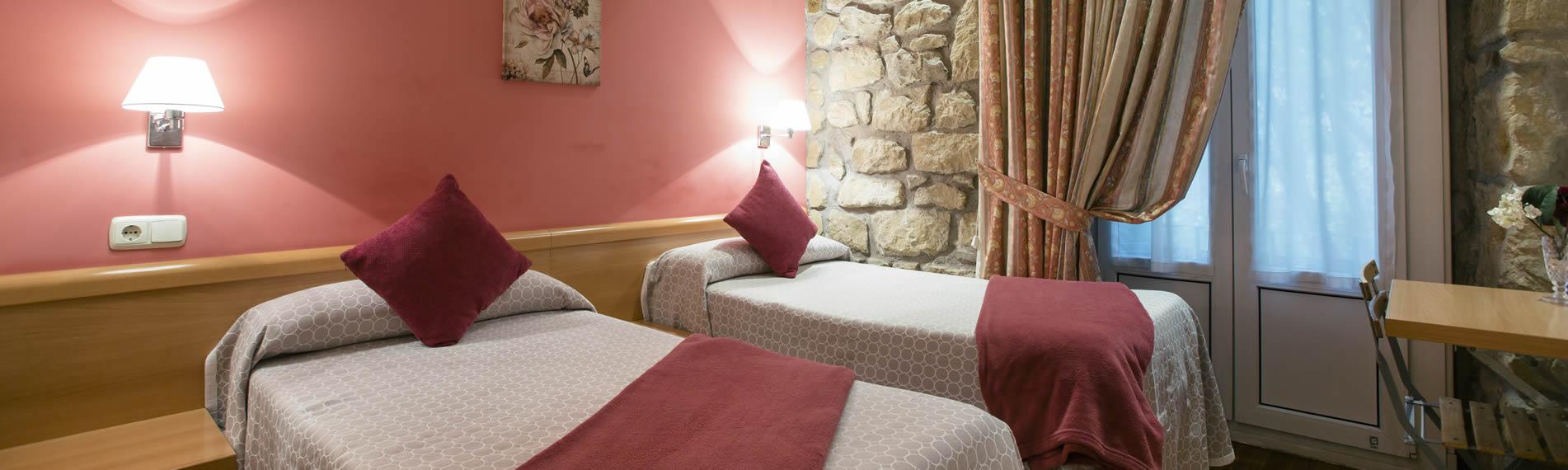 Hotel en la calle Urbieta en Donostia - San Sebastián, cerca de la playa de la concha